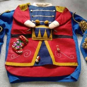 Ugly Christmas Sweater Nutcracker and Trees Large